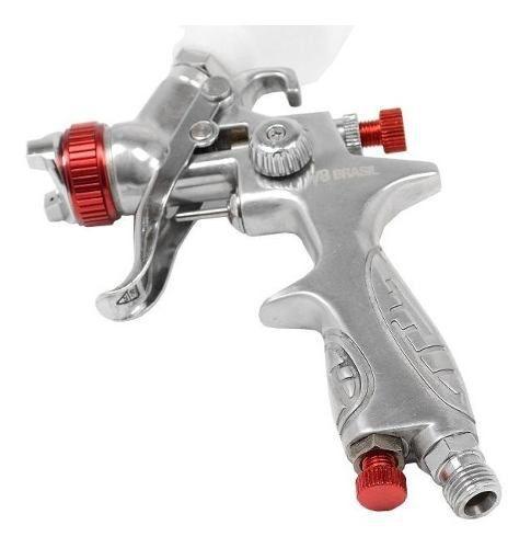 Pistola De Pintura Mp-201 Hvlp 1.0 E Pistola Ppk4 0.8 V8