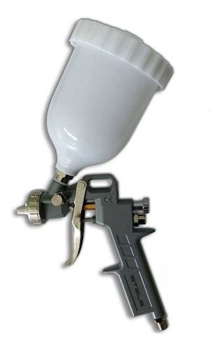 Pistola De Pintura 600ml C/ Tres Bicos 1.2mm 1.5mm 1.8mm
