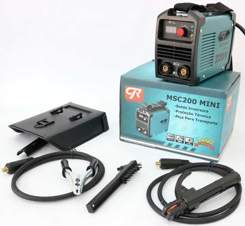 Inversora De Solda Industrial Msc-200a Cr Solda Alumínio 127