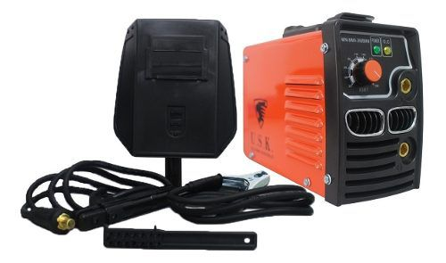 Mini Maquina De Solda Inversora Mma 260a Bm Usk 220v