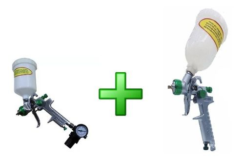 Kit Pistola Wimpel Mp250 1.4 E 1.7+ Pistola Hvlp Mp201 1.0
