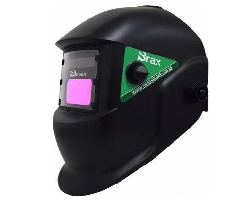 Máscara De Solda Automática Com Regulagem De 9 A 13 Lcd Brax