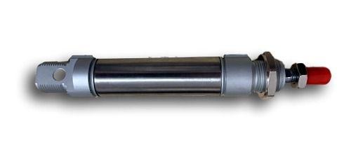 Cilindro Pneumático Mini Iso Simples Ação 25 X 25 Mm Curso