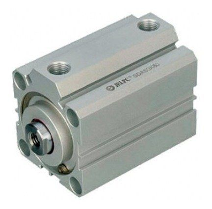 Cilindro Pneumático Compacto 40 X 25 Mm De Curso Haste Femea