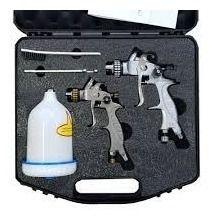 Kit Pistolas De Pintura Mp-260 E Mp-262 Com Maleta Wimpel