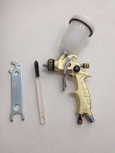 Pistola De Pintura Hvlp Com Maleta Wimpel Mp262 Bico 1.2 Mm