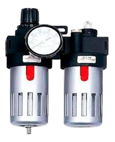 Filtro De Ar Para Compressor Com Regulador Lubrificador 1/2