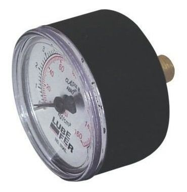 Manômetro Lub-39a 0 Á 7 Bar (100 Psi) Rosca 1/4 Horizontal