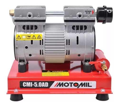 Compressor Ar Direto para Poço Artesiano Isento De Oleo 220v 1000w Motomil CMI-5,0-AD