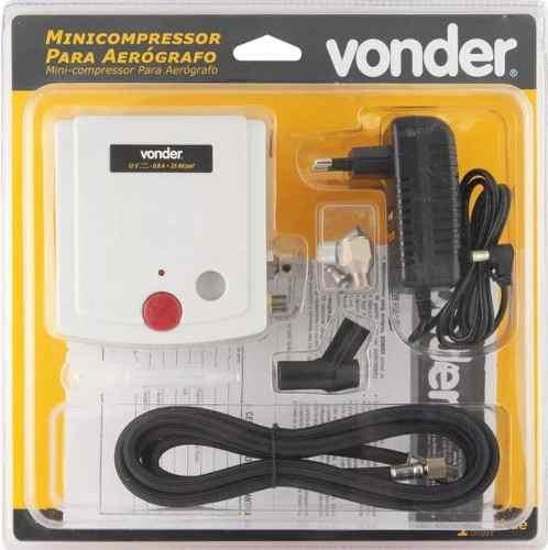 Mini Compressor Para Aerografia Vonder Bivolt