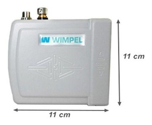Kit Aerografia Compressor Bivolt Wimpel Comp3 E Mp-1002 0.35