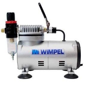 Kit Aerografo Mp1003 + Mini Filtro + Compressor Comp1 Wimpel
