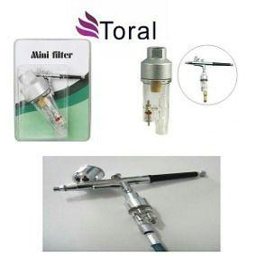 Kit De Aerografia Completo Compressor+aerógrafo+mini Filtro