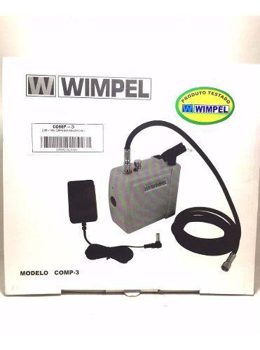 Mini Compressor Silencioso Comp-3 Wimpel P/aerografia Bivolt