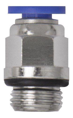 200 Conexões Pneumáticas Instantâneas Rosca 1/4 Bsp X 6mm