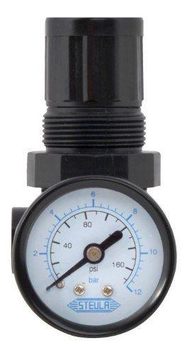 Válvula Regulador de Controle Pressão para Pistola Pintura VCP-10 Steula