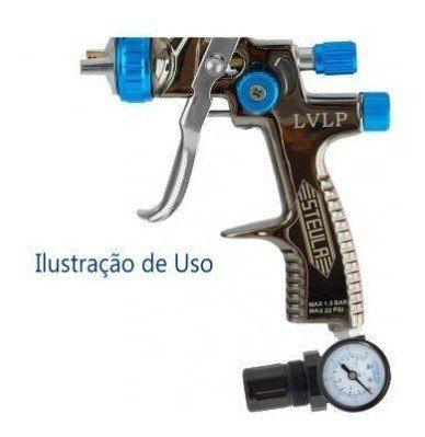 Válvula De Controle De Pressão 1/4 0 Á 175 Psi Para Pistola