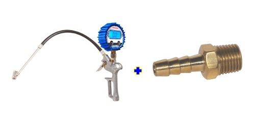 Calibrador Digital Steula Dig-2 E Espigão Latão 1/4 X 1/4