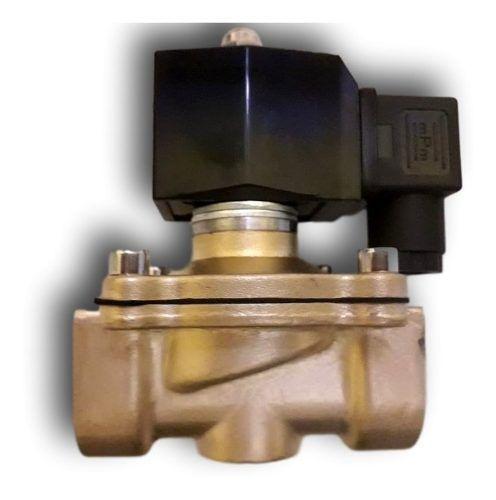 Válvula Solenoide 1 Polegada Nf 80cº 2/2 Água/ Oleo/ Ar 110v