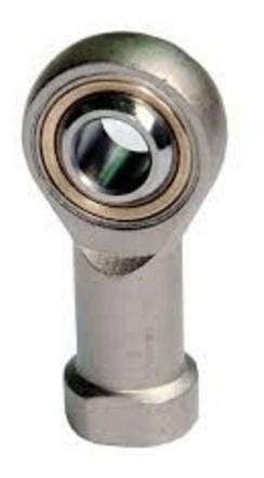 6 Peçasterminal Rotular Esférico Ponteira Rosca Fêmea M6 X 1