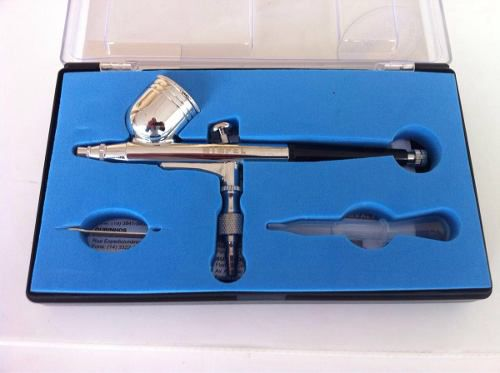 Kit Aerografia Mini Filtro + Aerógrafo + Compressor Comp-3