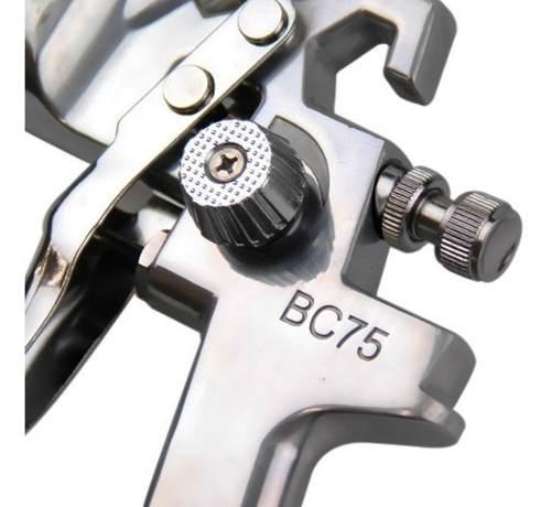 Pistola De Pintura Steula Bc75 1.7 E Regulador De Pressão