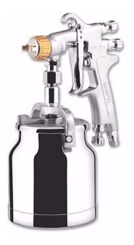 Pistola De Pintura Baixa Produção Sucção 600 Ml Mp781 Wimpel