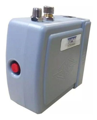 Mini Compressor Bivolt Aerografia E Aerógrafo Com Mangueira