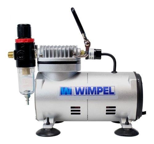 Compressor Comp1+mini Filtro+ Aerógrafo Steula Bc66 0.5 Mm