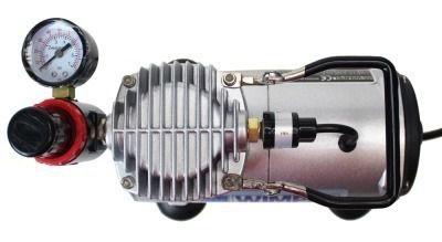 Compressor Wimpel+mini Filtro+aerógrafo Bc60 Bico 0.3 Steula
