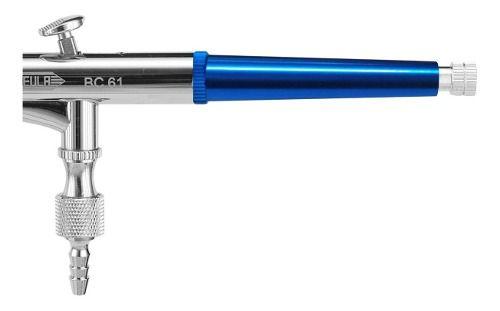 Compressor Wimpel Comp1+aerógrafo Dupla Ação Bc61-0.3 Steula