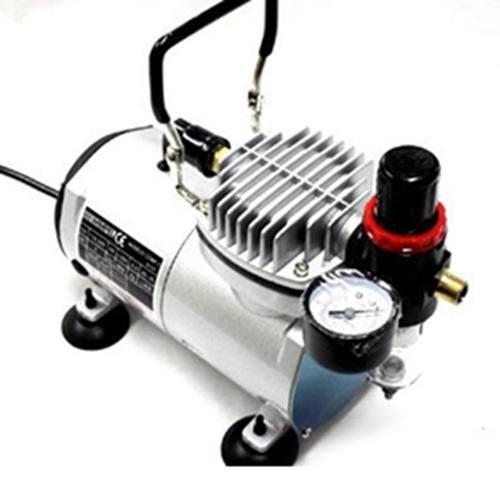 Kit Compressor Wimpel + Aerógrafo 0,35 Dupla Ação Mp-1004