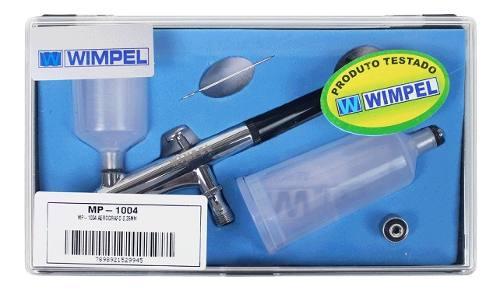 Aerógrafo Dupla Ação Wimpel Mp-1004 Bico E Agulha 0.35 Mm