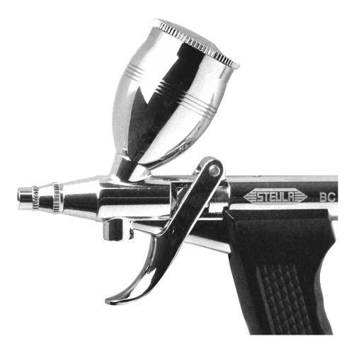 Aerografo Mini Pistola Bc66-0.8 E Mangueira 3 Metros Steula