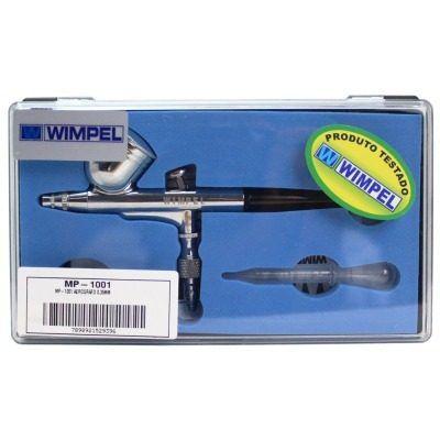 Kit Aerografia Comp-1+aerógrafo Mp-1001+mini Filtro Wimpel