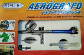 Aerógrafo Profissional dupla ação STEULA BC61-0.3 mm