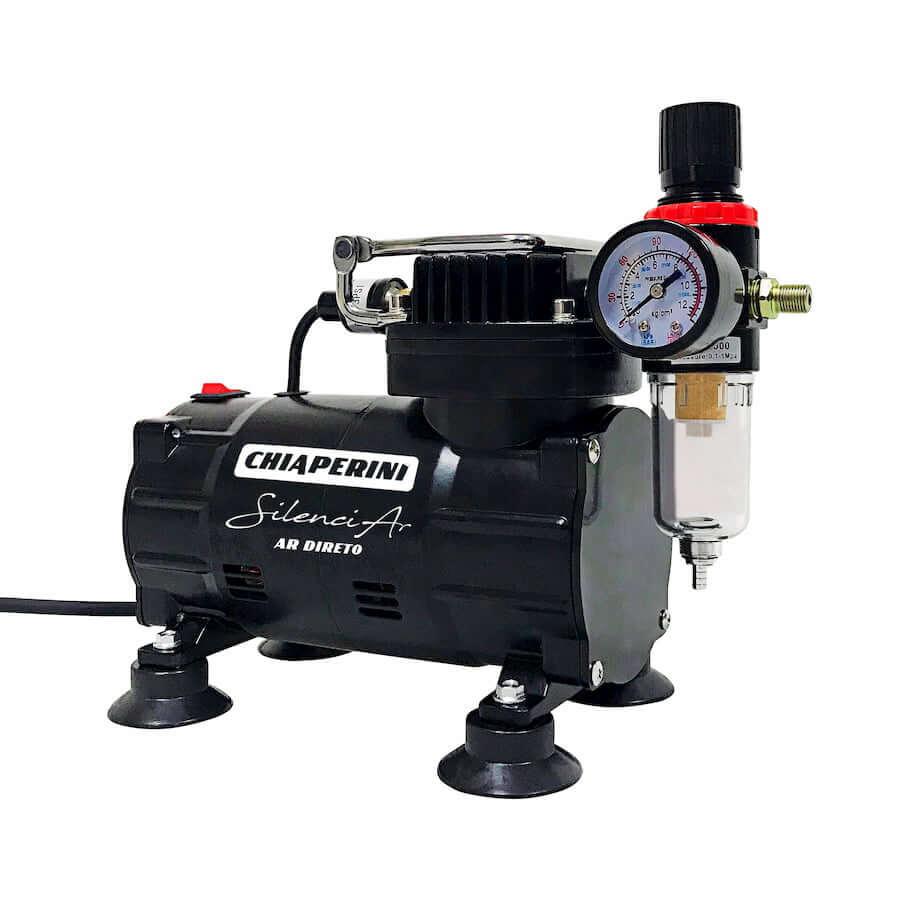 Compressor para Aerografia CHIAPERINI Silencioso 220V