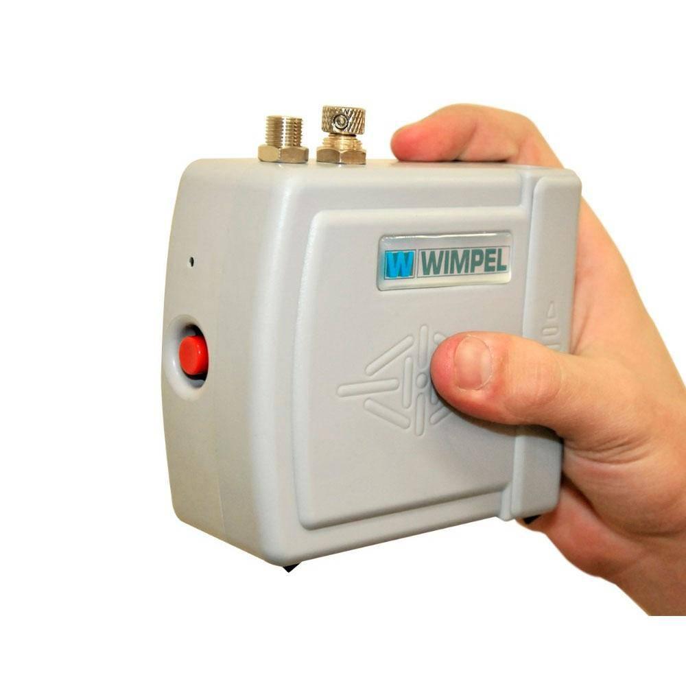 Kit Aerografia completo compressor COMP3 Wimpel e Aerógrafo STEULA BC61 Bico 0.3 mm