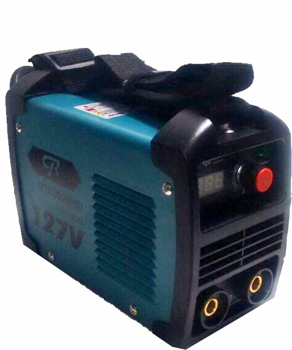 Máquina de Solda Inversora MINI MMA MSC-200A CR Do Brasil 127V