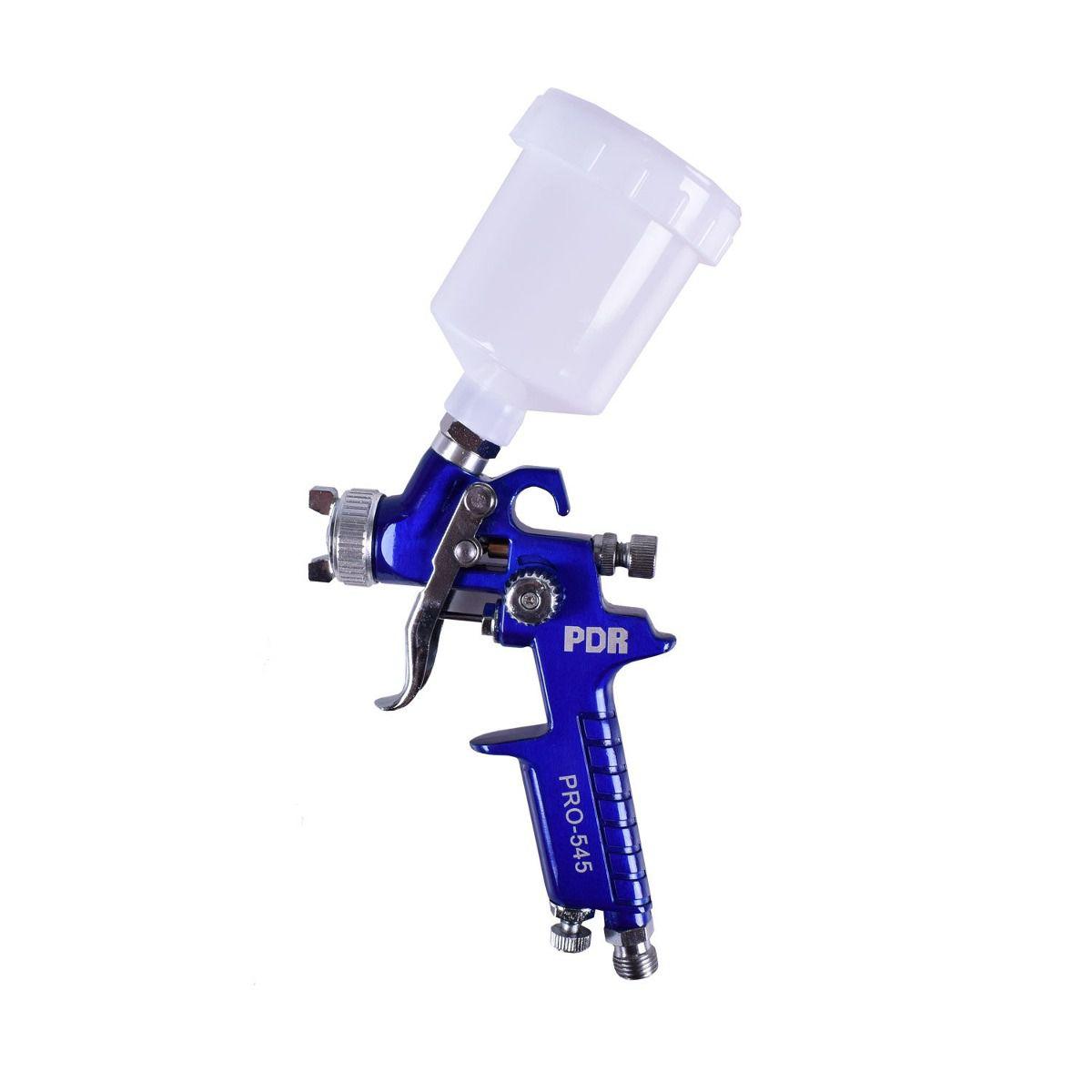 Pistola de Pintura HVLP Bico 0.8 125 ML LDR PRO-545