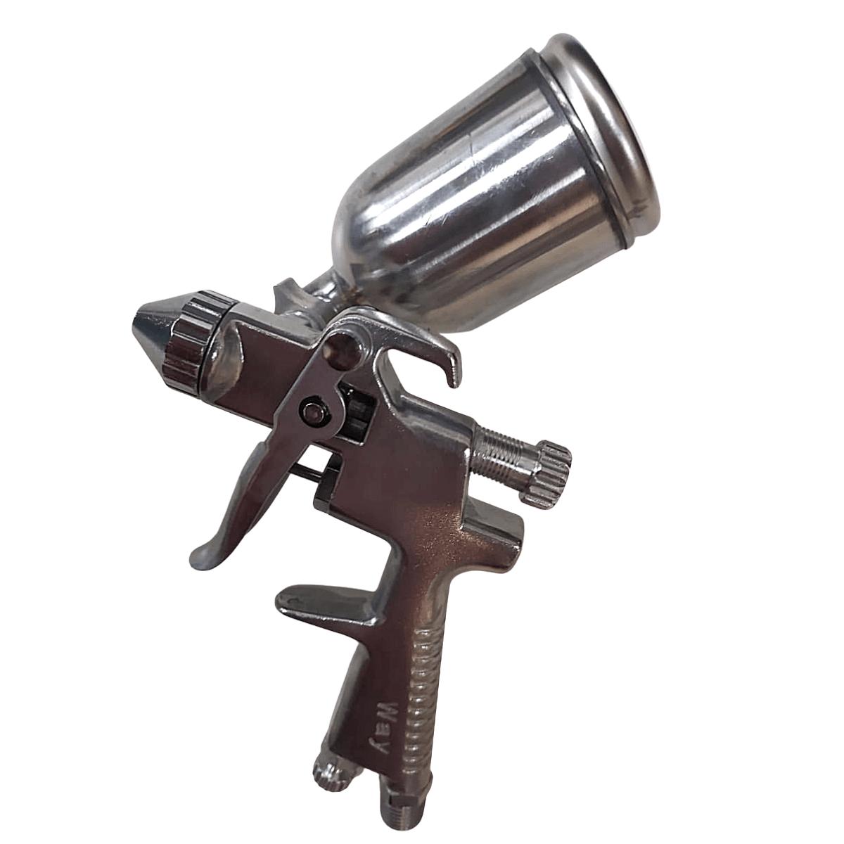 Pistola Pintura Gravidade Aerógrafo Bico 0,5 Mm 200 Ml K3