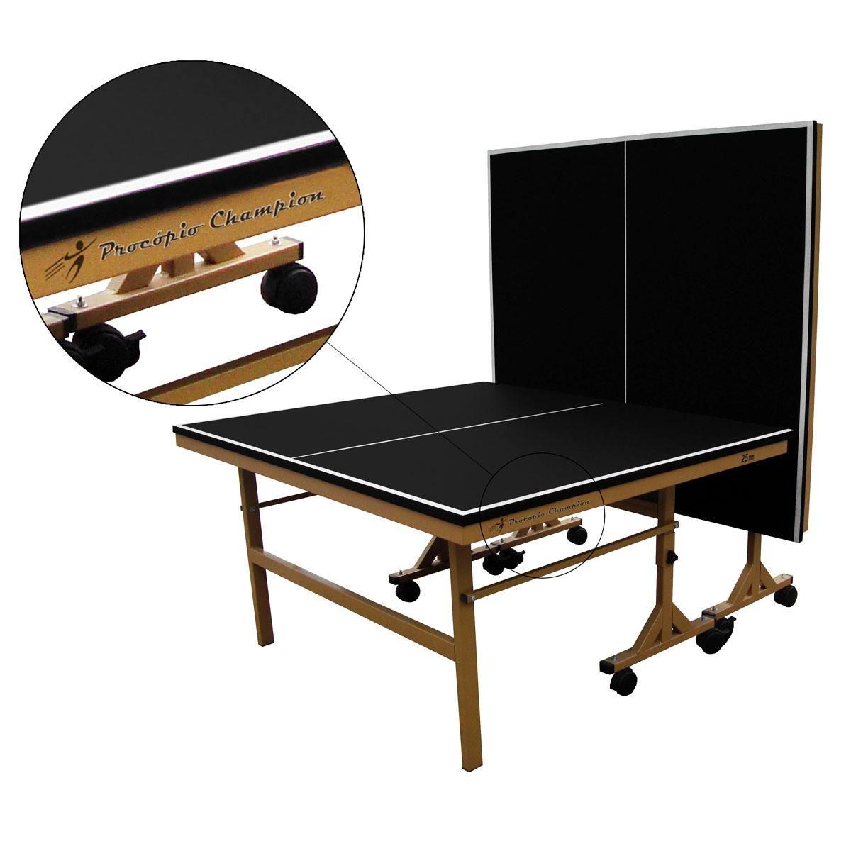 613925ad7 Tênis De Mesa Oficial Ping Pong Paredão MDP 25mm Procópio - Alaia Sports