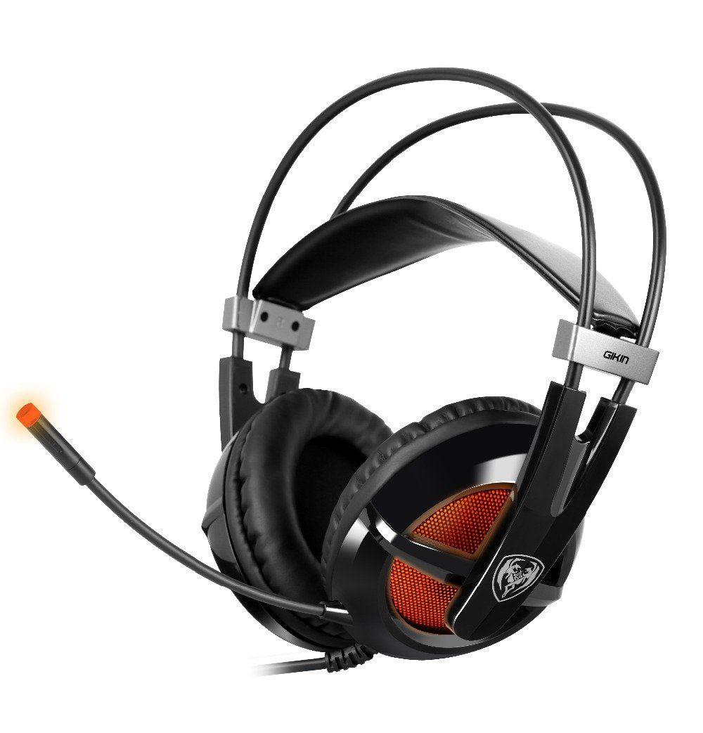 10Pcssomic G938 Gaming Headset Deep Bass Stereo Mic