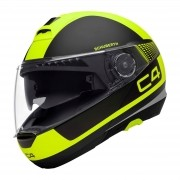 Capacete Schuberth C4 Legacy Black Yellow - C-4