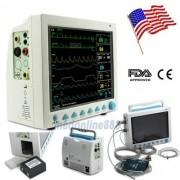 Contec Cms8000 Monitor Portátil Sinais Vitais Ecg Nibp Spo2