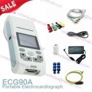Contec Ecg90A Toque Ecg De 12 Derv Ecg Eletrocardiógrafo Pc
