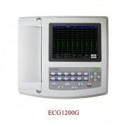 Eletrocardíografo Contec 12-Channel Lead Ecg/Ekg Tempo Real
