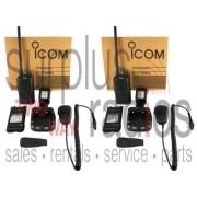 Icom F3001 Vhf Rádios 5 W 16Ch Potência Gancho