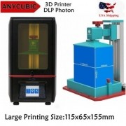Impressora 3D Anycubic Sla Photon 405Nm Uv Resina Led
