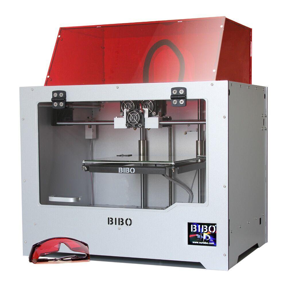 Bibo 3D Corte Impressão De Metal Dup. Ext. Impressora Laser